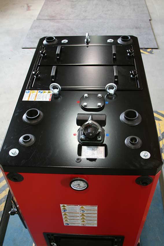 Flispannor 65, 70, 75 kW VVS