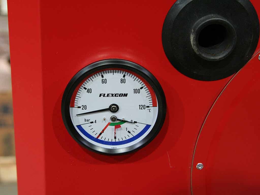 Flispanna, stokerpanna 30 kW