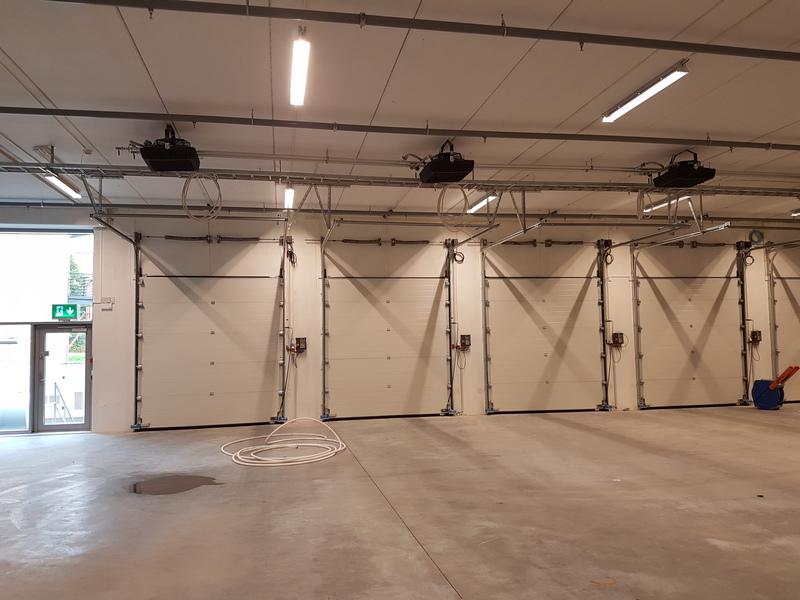Aerotemper i produktionshall