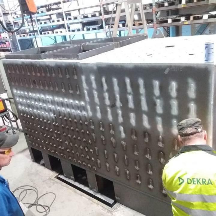 Flispanna 600, 700, 800, 900 kW och 1 MW tillverkning